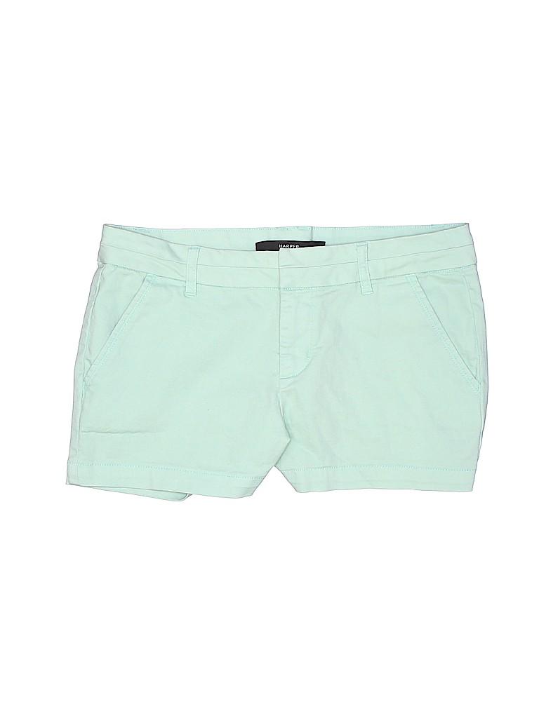 Harper Women Khaki Shorts 29 Waist