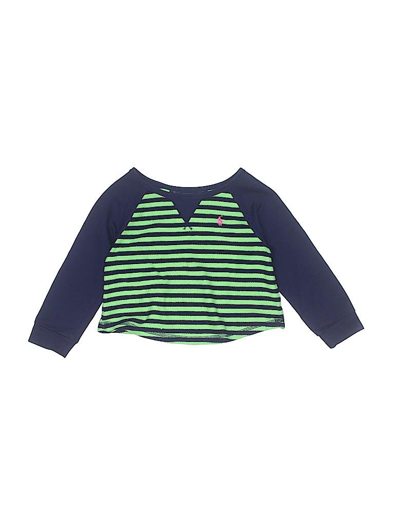 Ralph Lauren Girls Sweatshirt Size 3T