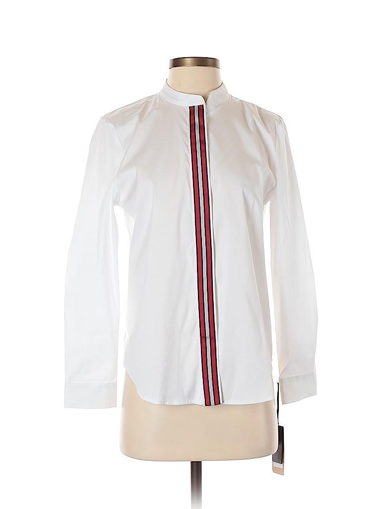 Halogen Women Long Sleeve Blouse Size S (Petite)