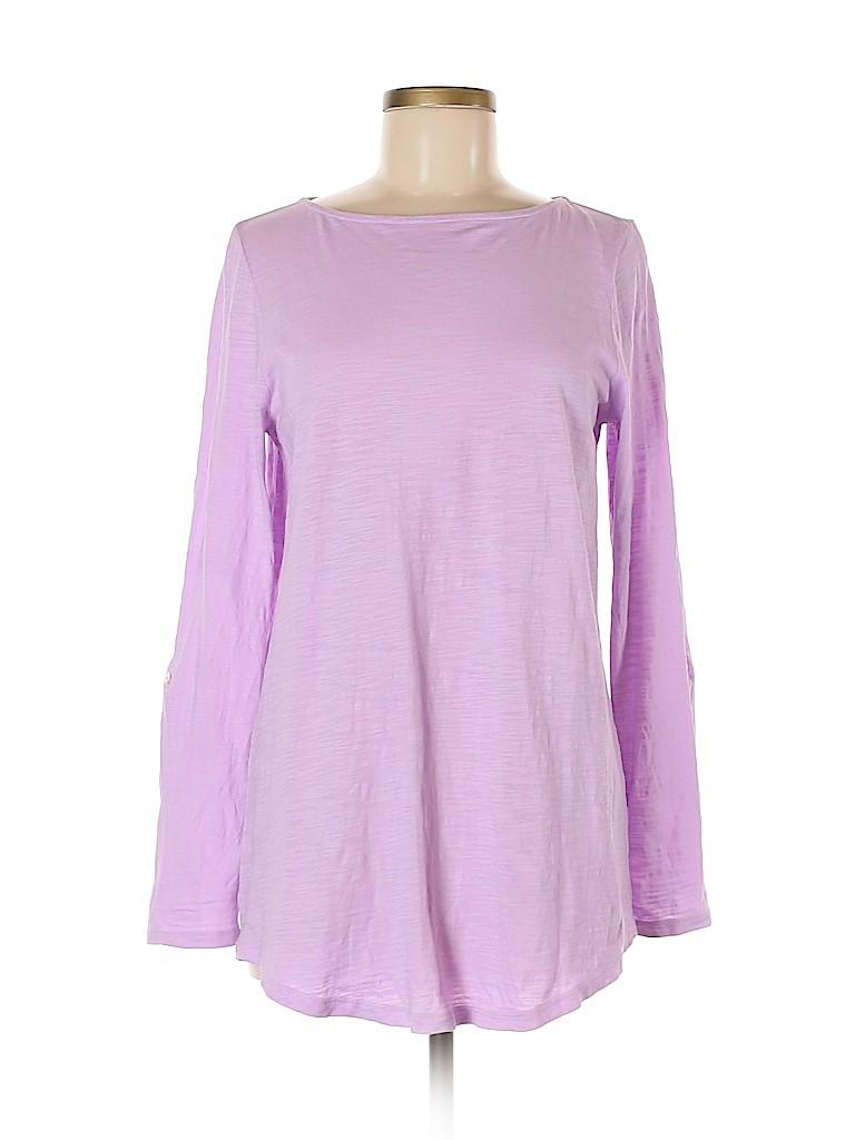 J.jill Women Long Sleeve T-Shirt Size S
