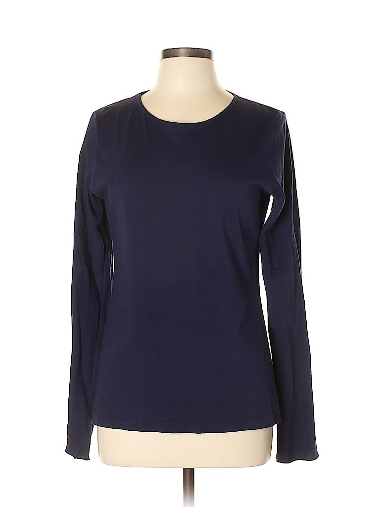 American Apparel Women Long Sleeve T-Shirt Size XL