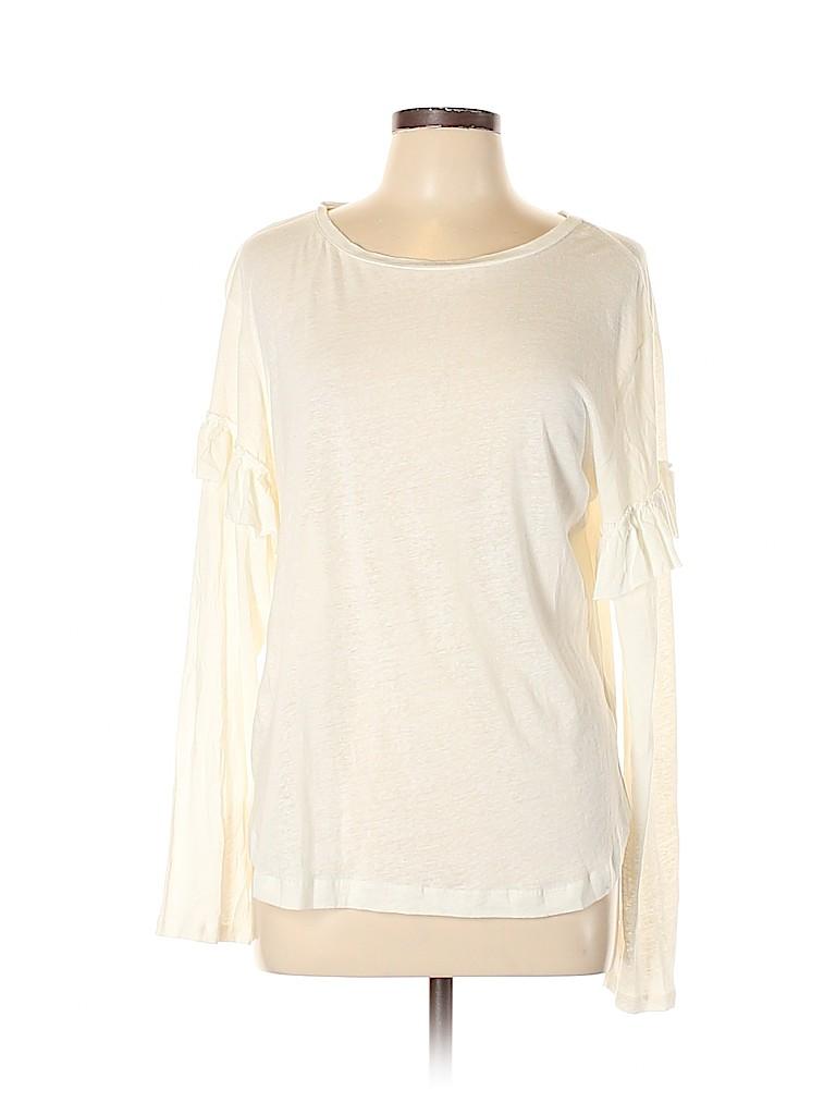 Rebecca Minkoff Women Long Sleeve Top Size L
