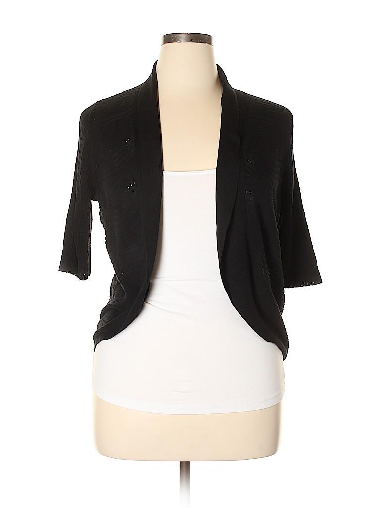Calvin Klein Women Cardigan Size 0X (Plus)