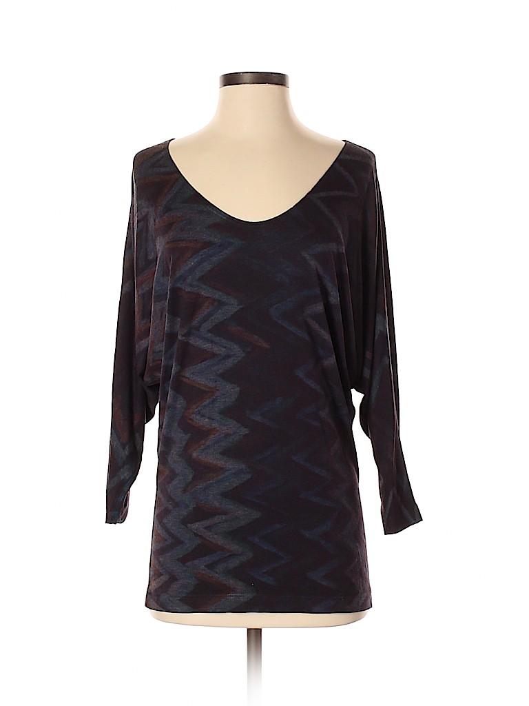 Nally & Millie Women 3/4 Sleeve Top Size S