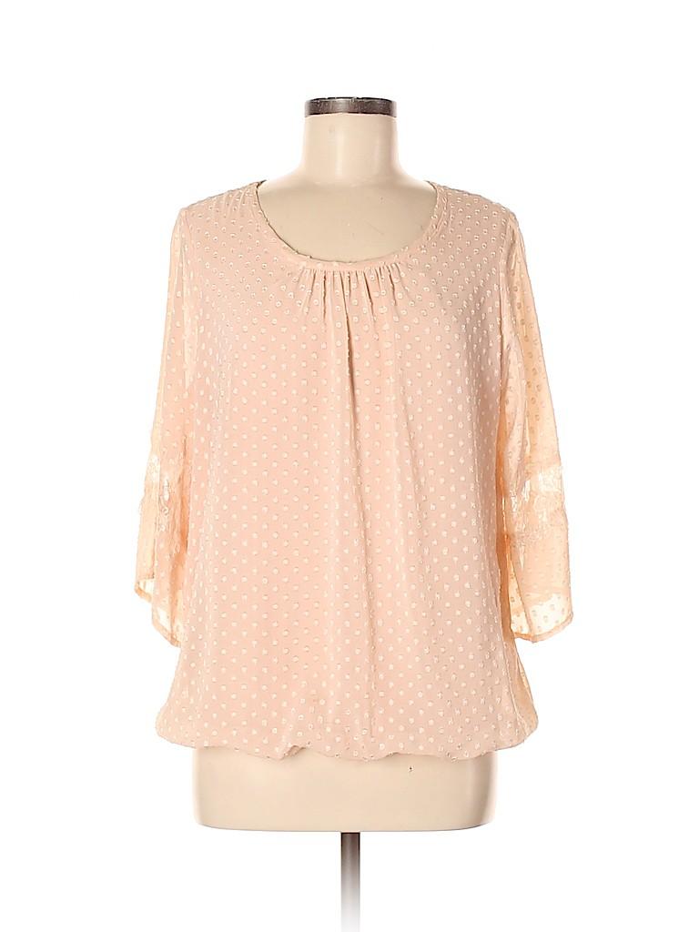Agenda Women 3/4 Sleeve Blouse Size M