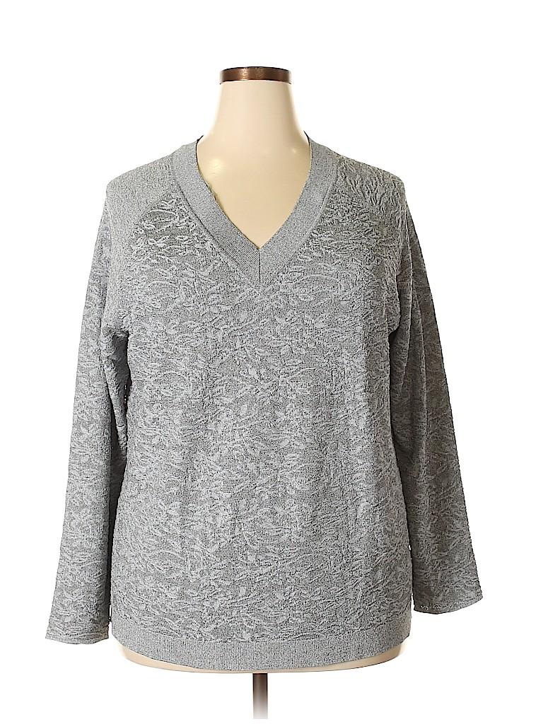 Jones New York Women Pullover Sweater Size 1X (Plus)