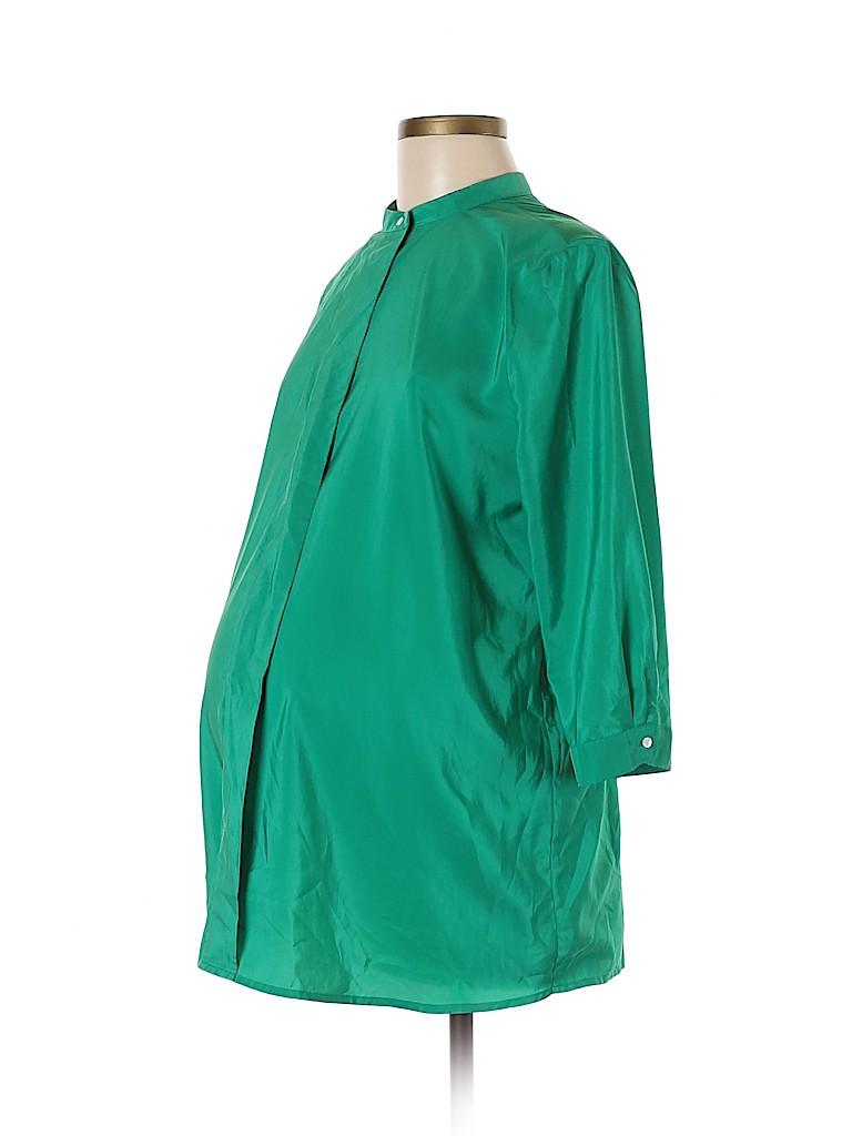 Gap Women 3/4 Sleeve Blouse Size M (Maternity)