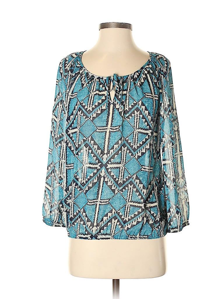 Lucky Brand Women Long Sleeve Blouse Size S