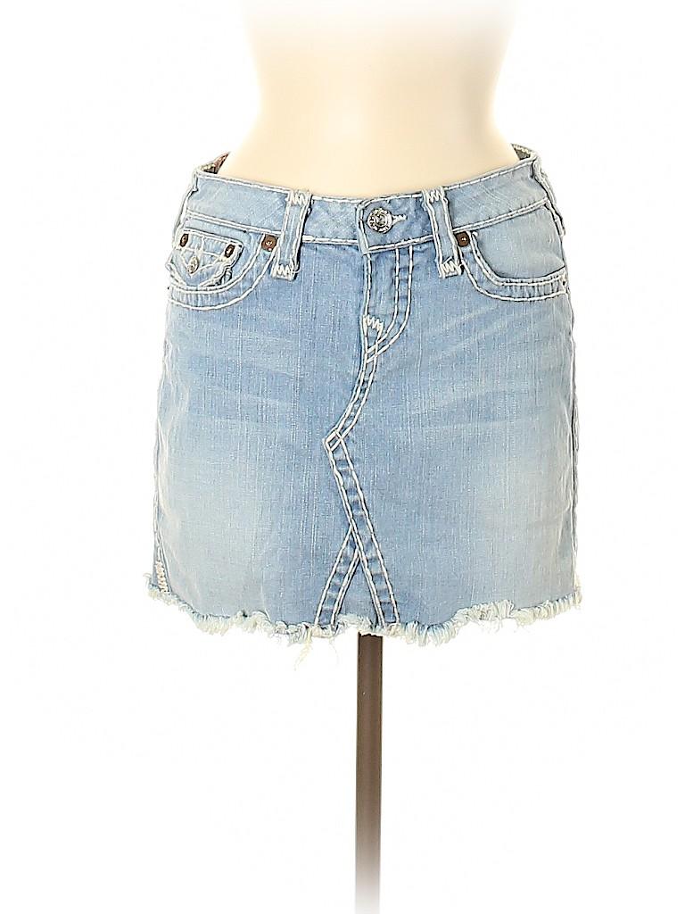 Blue Jean Skirt Religion - raveitsafe