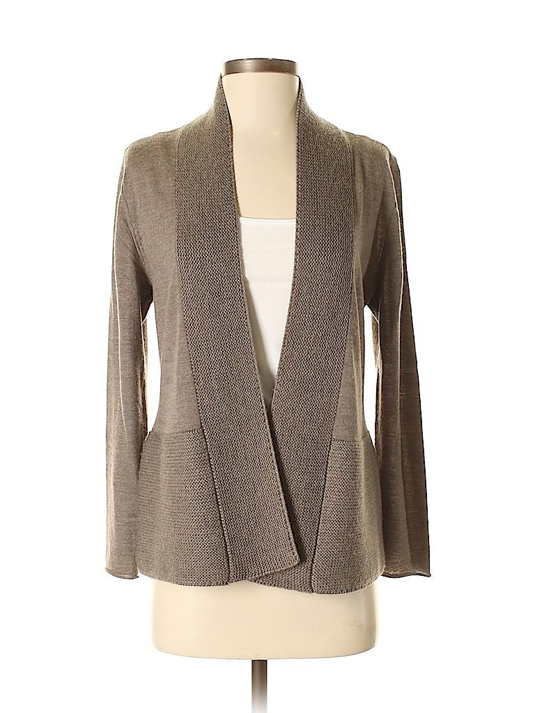 Eileen Fisher Women Wool Cardigan Size S