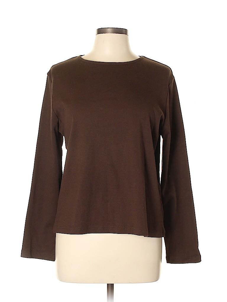 Hannah Women Long Sleeve T-Shirt Size XL