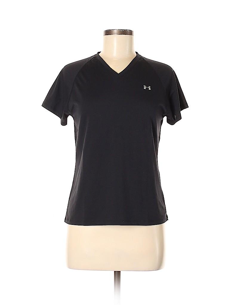 Under Armour Women Short Sleeve T-Shirt Size M