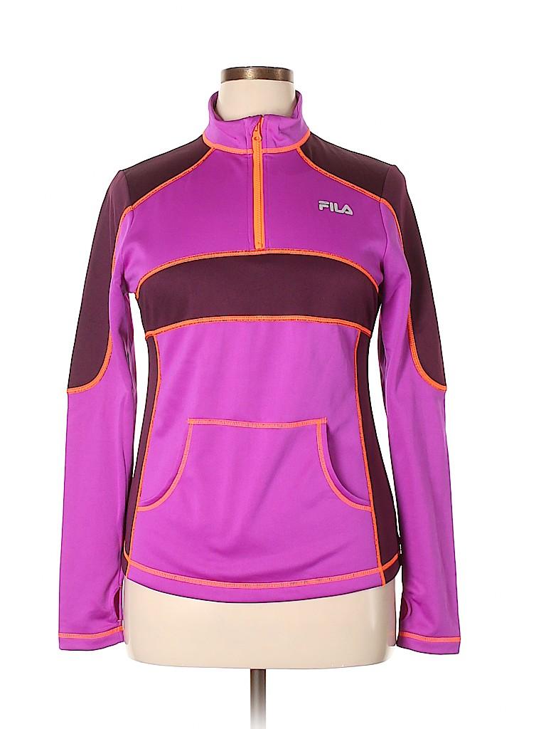 Fila Sport Women Track Jacket Size L