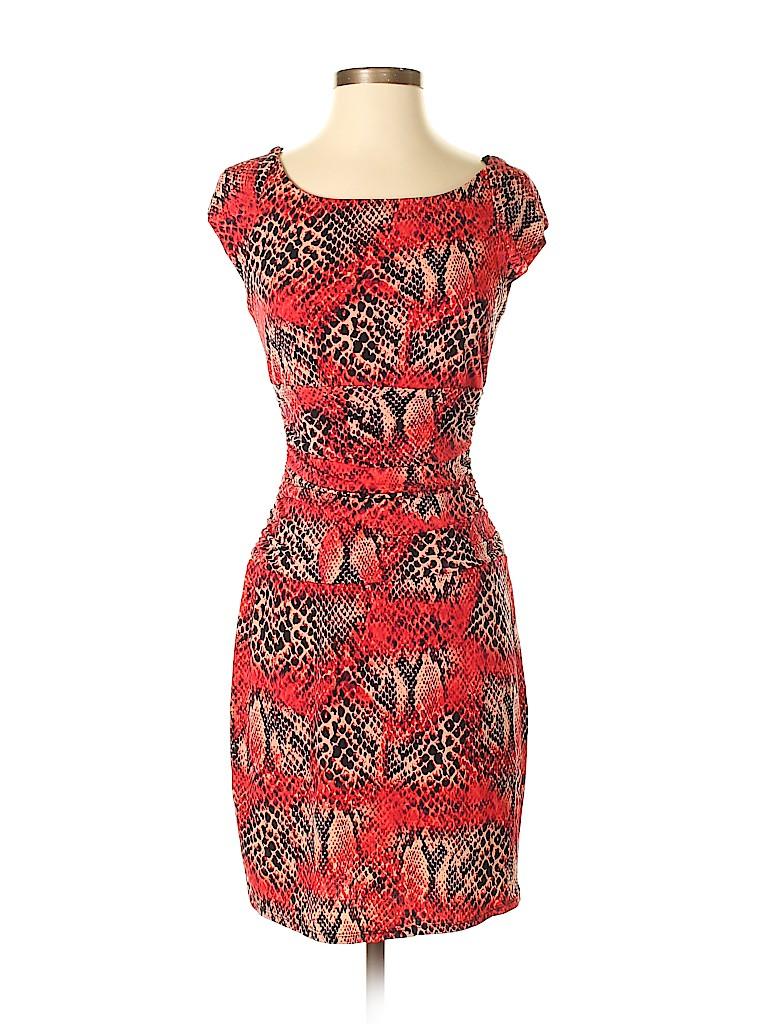 Bisou Bisou Women Casual Dress Size 4