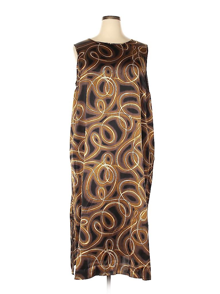 Diane von Furstenberg Women Casual Dress Size 2X (Plus)