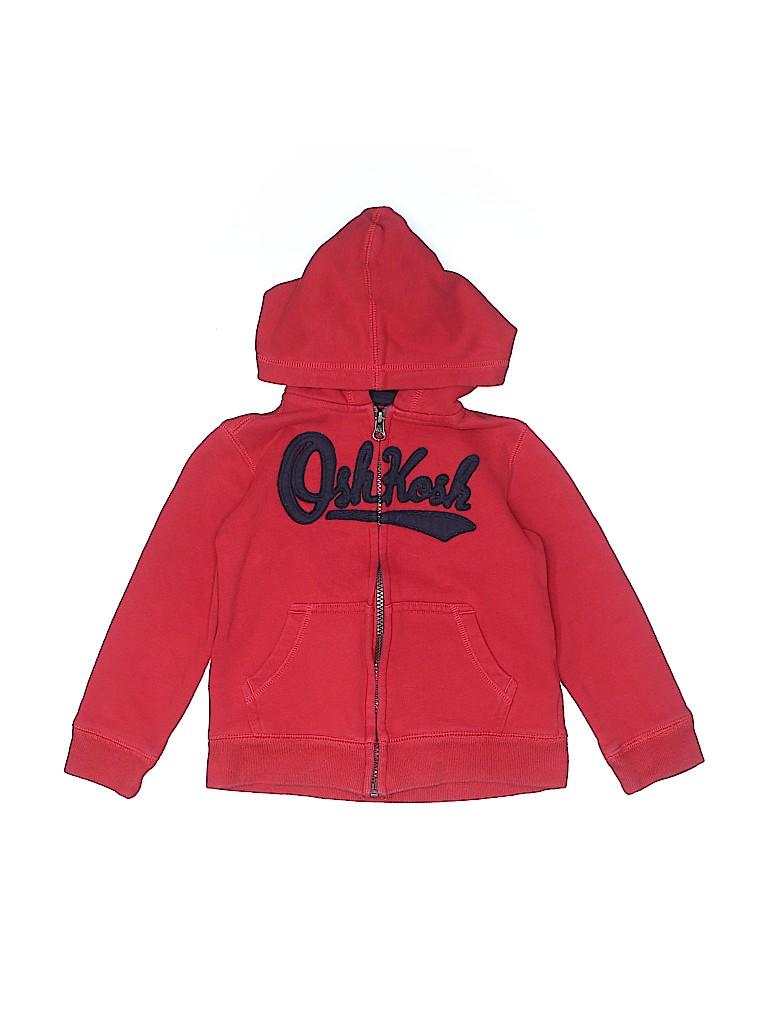 OshKosh B'gosh Boys Zip Up Hoodie Size 4