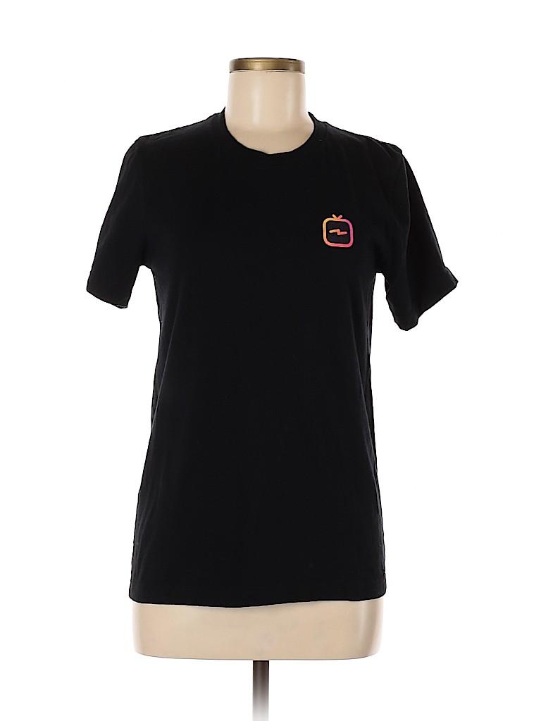 Canvas Women Short Sleeve T-Shirt Size S
