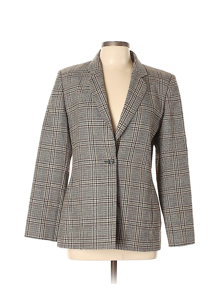 Harve Benard by Benard Holtzman Women Wool Blazer Size 12