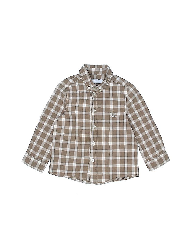Tartine et Chocolat Boys Long Sleeve Button-Down Shirt Size 2