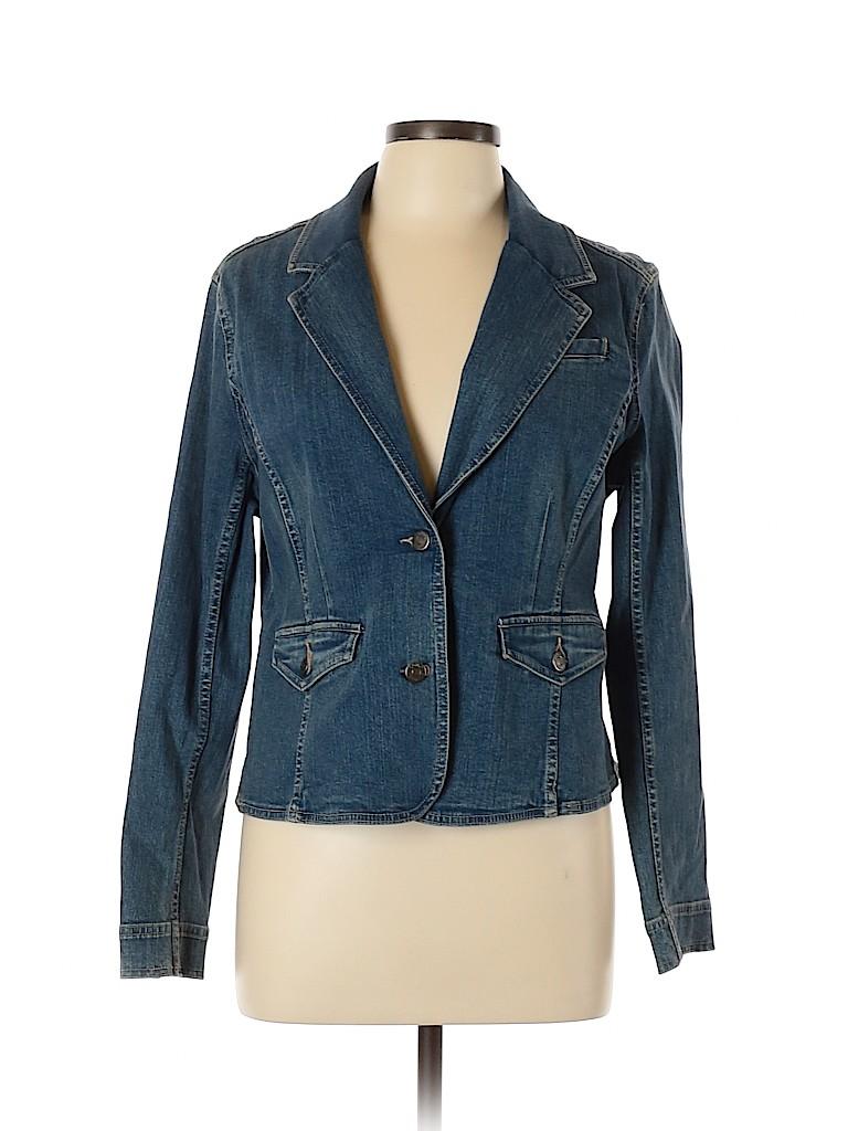 SONOMA life + style Women Denim Jacket Size L