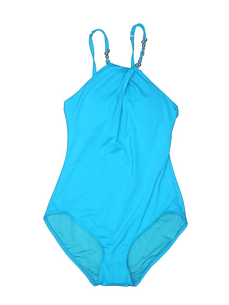 Carmen Marc Valvo Women One Piece Swimsuit Size 4