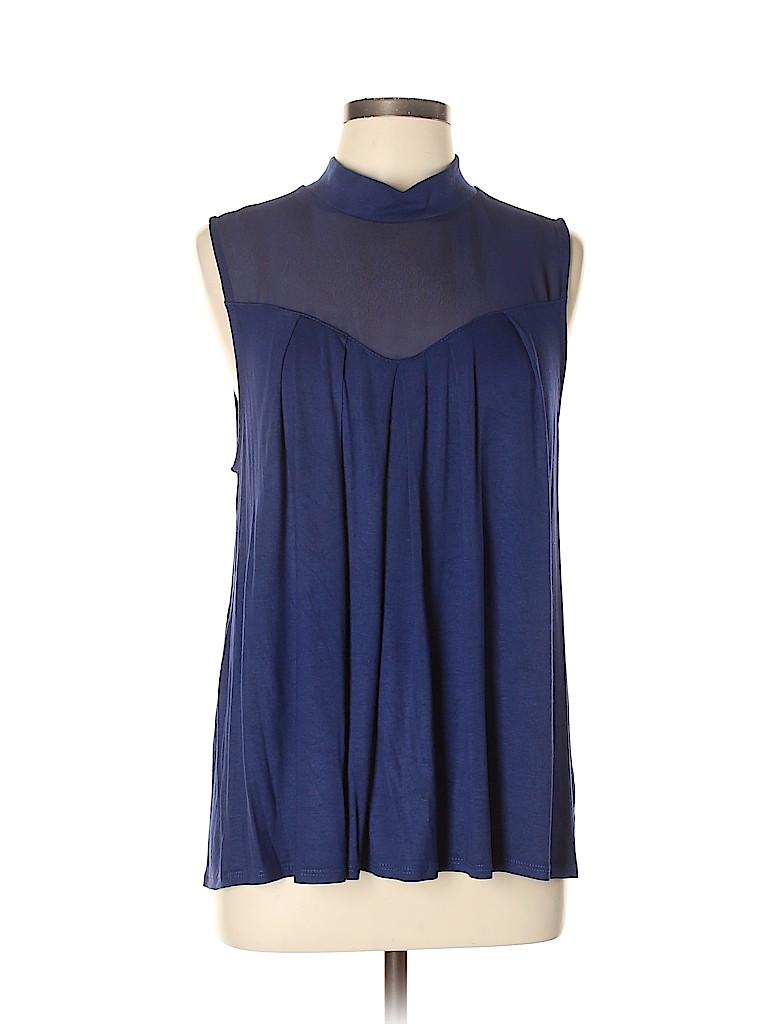 Fervour Women Sleeveless Top Size L