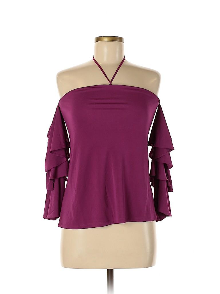 White House Black Market Women 3/4 Sleeve Top Size 0