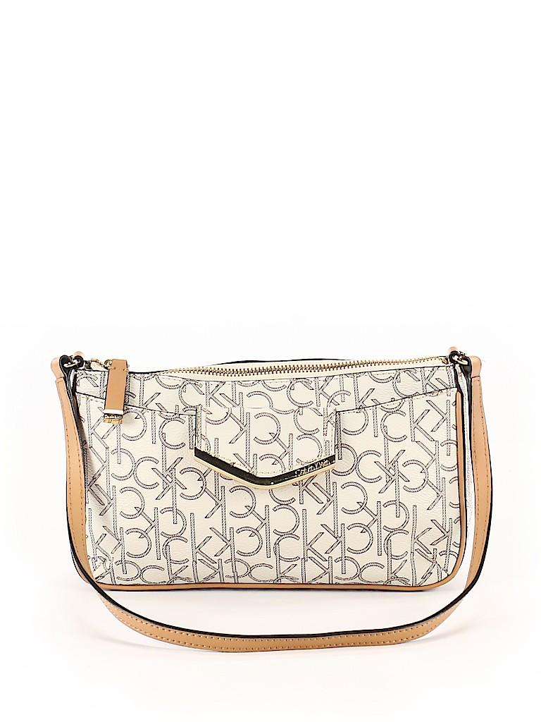 Calvin Klein Women Leather Shoulder Bag One Size