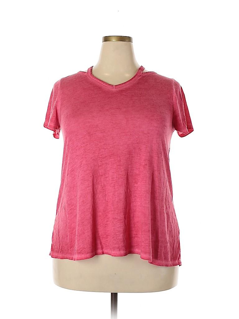 Bobbie Brooks Women Short Sleeve Blouse Size XL
