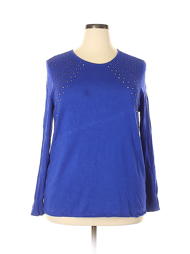 Jaclyn Smith Women Pullover Sweater Size XXL