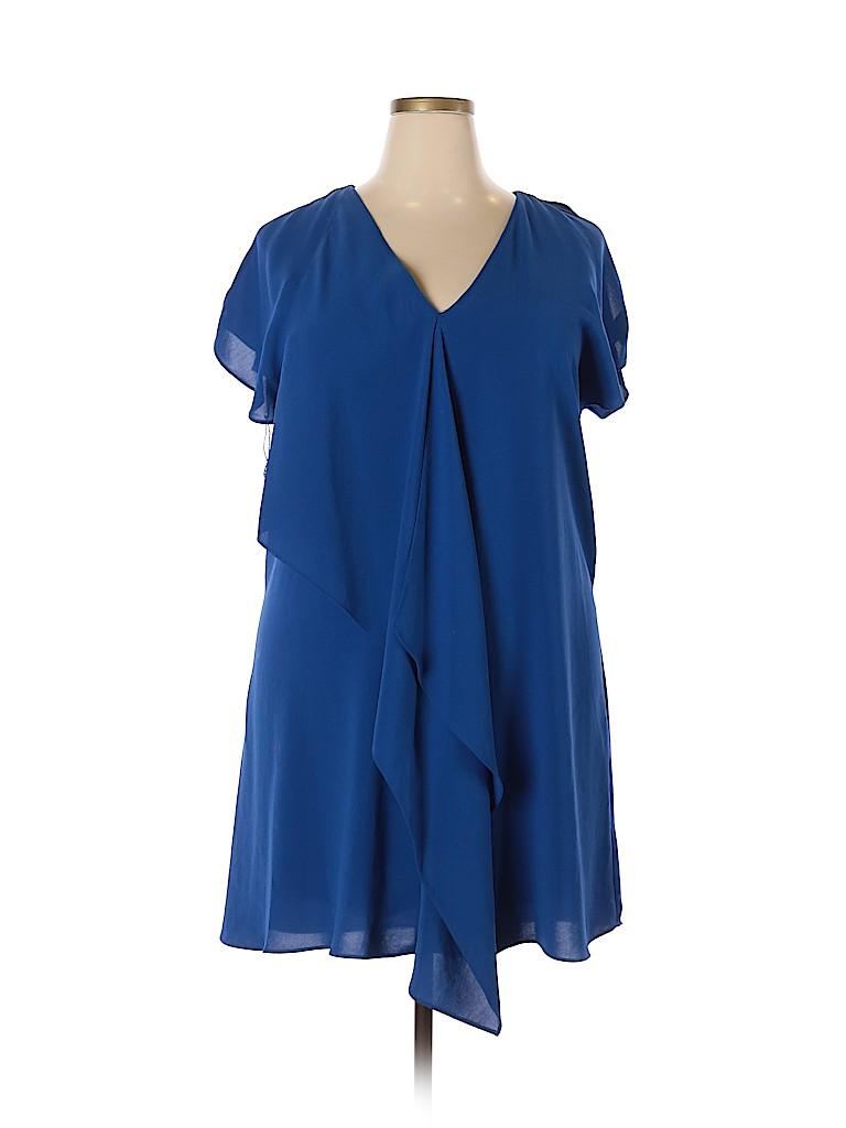 Adrianna Papell Women Cocktail Dress Size 46 (EU)