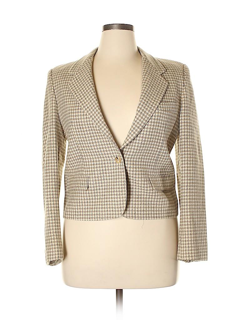 Evan Picone Women Wool Blazer Size 14