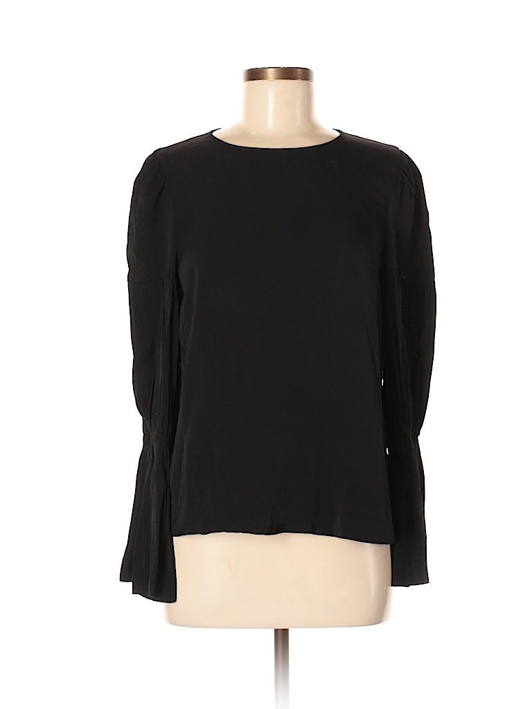 Club Monaco Women Long Sleeve Blouse Size M