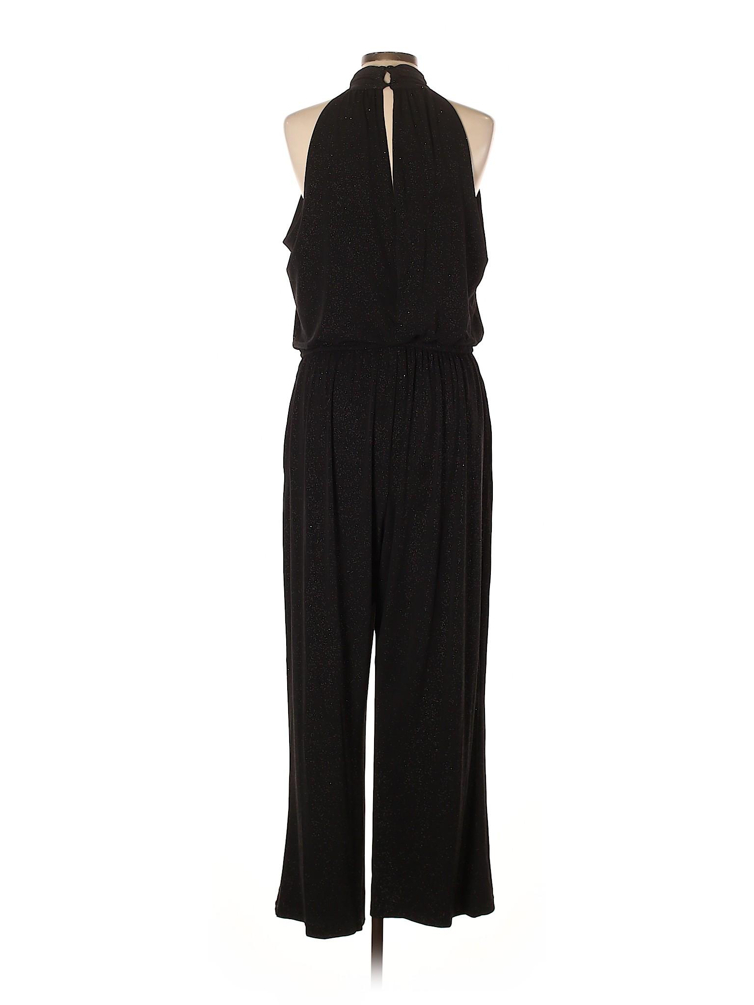 f7e3b0f7eba Enfocus Metallic Black Jumpsuit Size 16 - 37% off