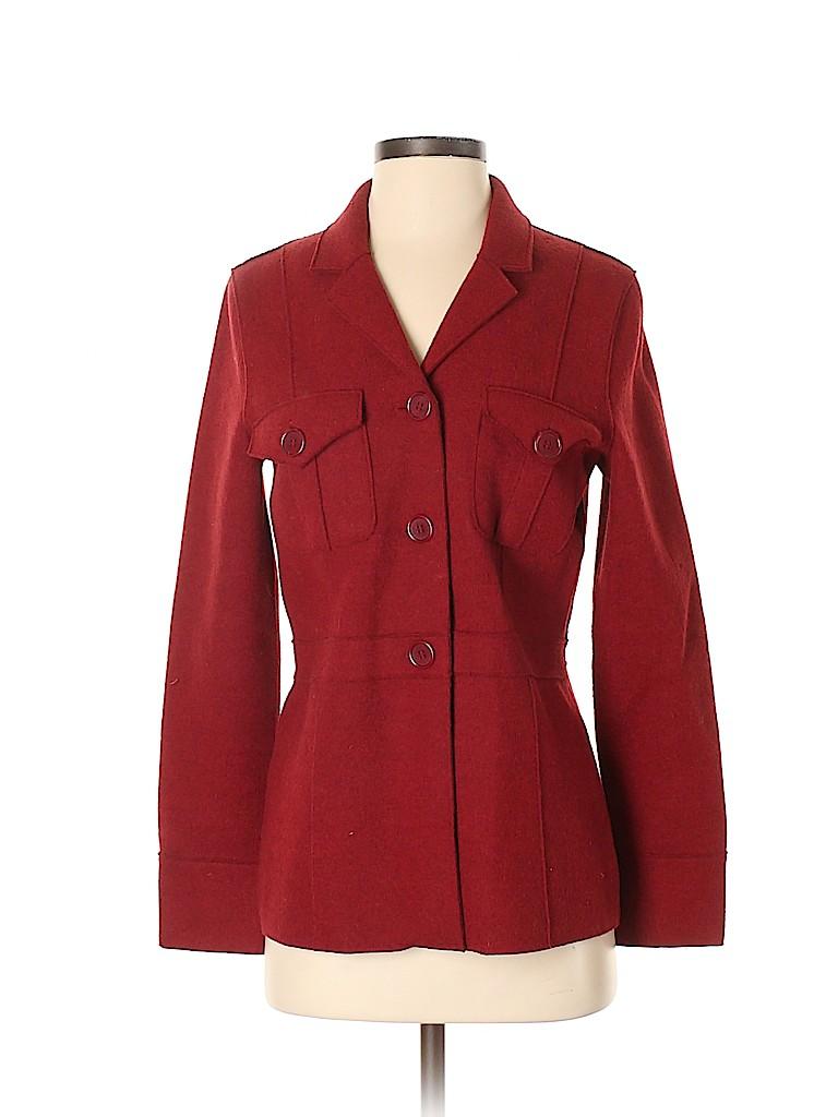 Jones New York Sport Women Wool Blazer Size S