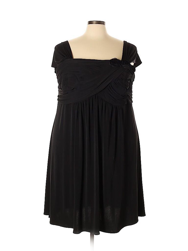 Fashion Bug Women Casual Dress Size 28 (Plus)