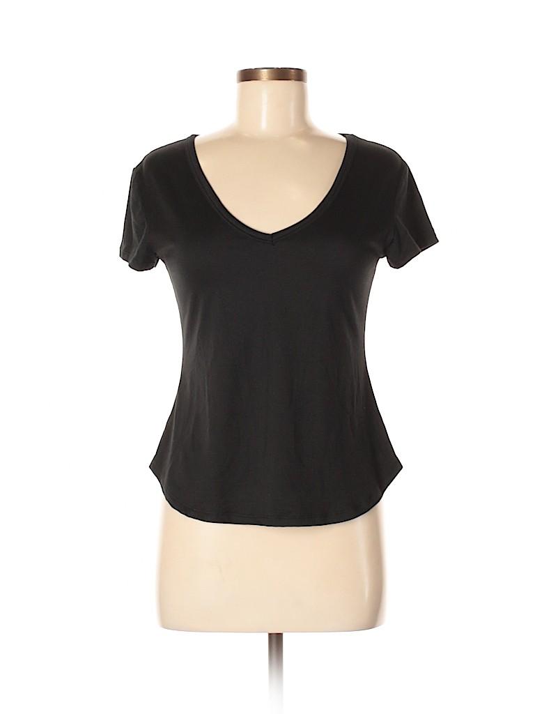 Polly & Esther Women Short Sleeve T-Shirt Size M