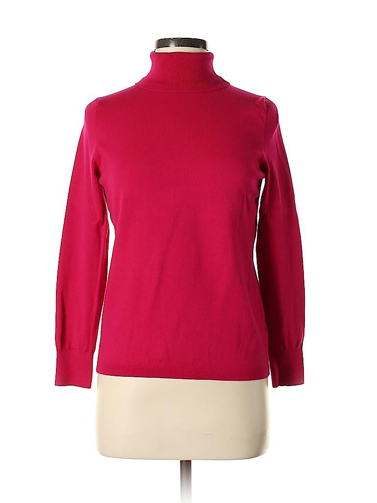 Talbots Women Turtleneck Sweater Size M (Petite)