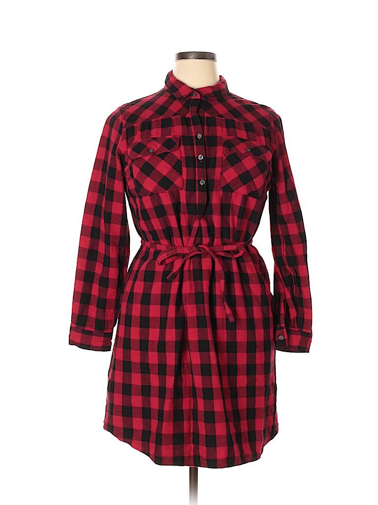 Eddie Bauer Women Casual Dress Size 18 (Plus)