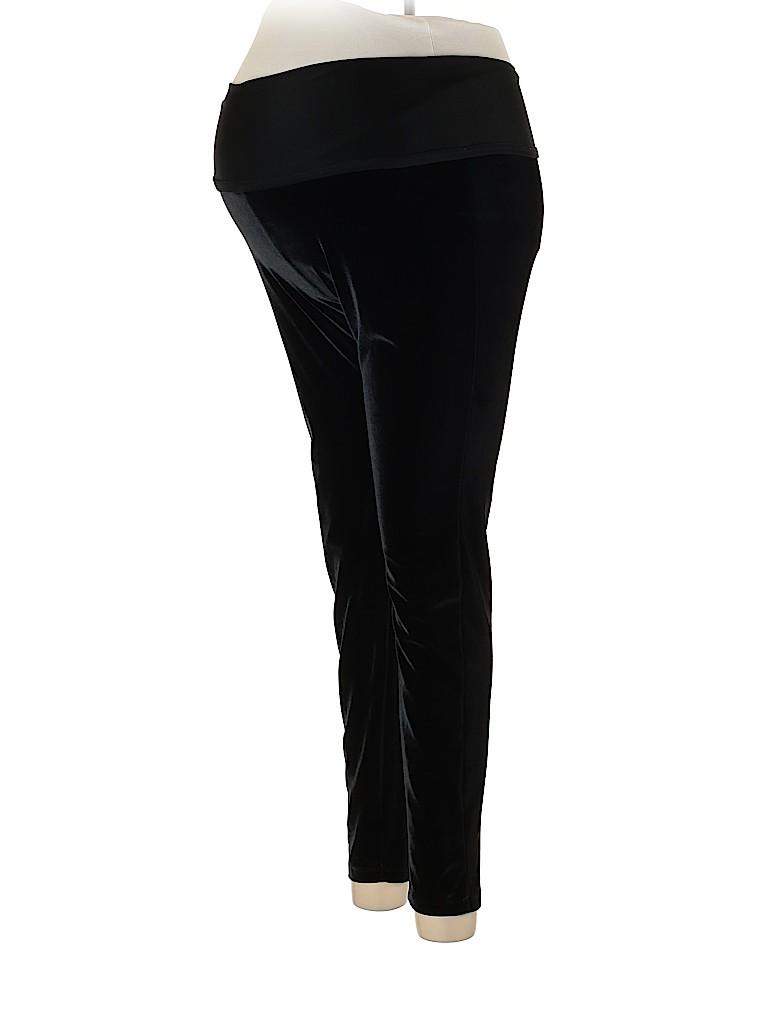 OCTAVIA Maternity Women Velour Pants Size M (Maternity)