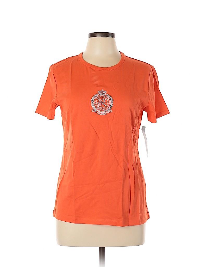 L-RL Lauren Active Ralph Lauren Women Active T-Shirt Size L
