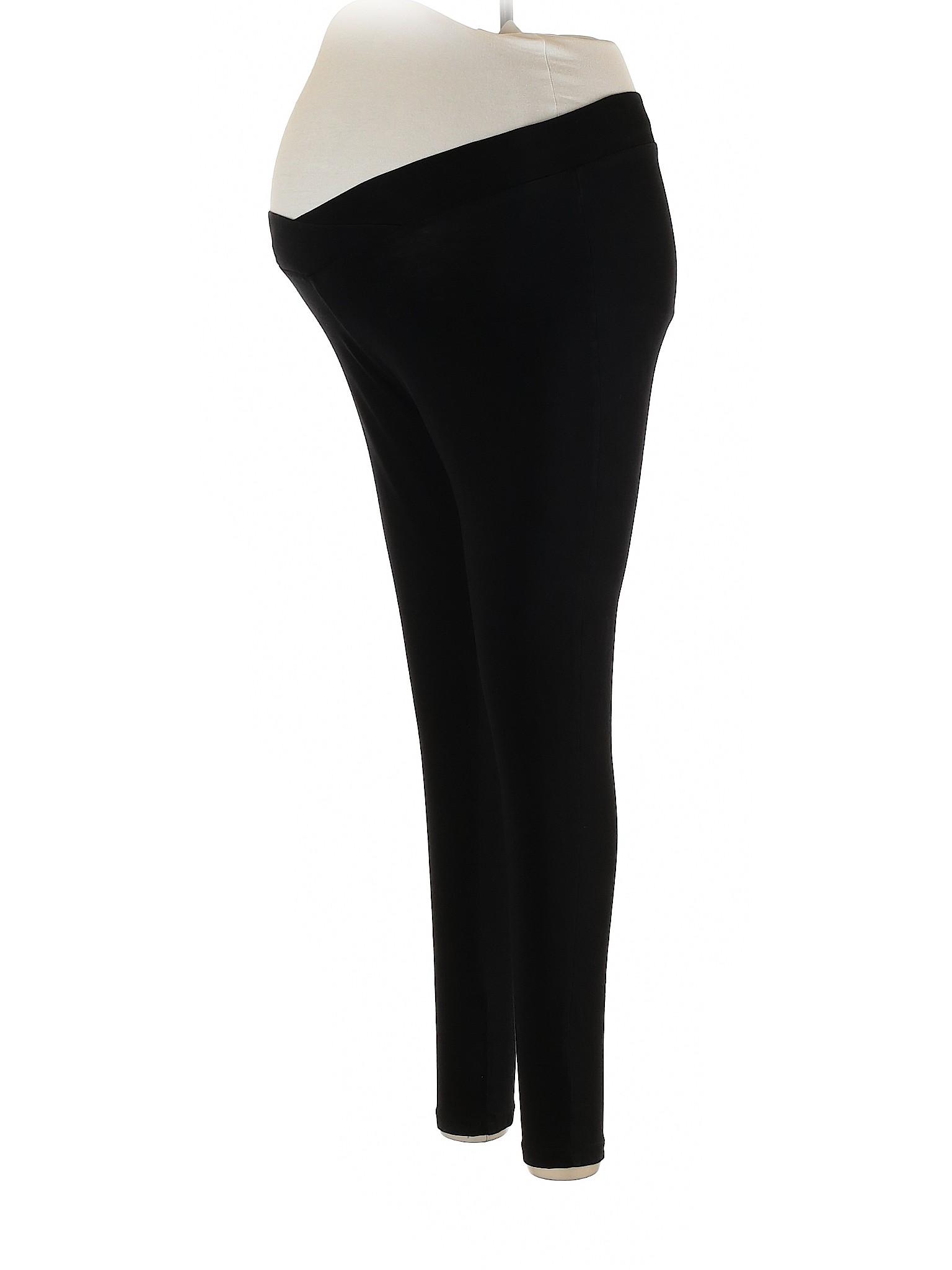 300bfaa4d7bf41 BumpStart Solid Black Leggings Size M (Maternity) - 41% off | thredUP