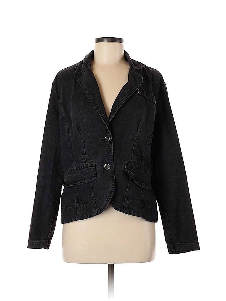 Baccini Women Denim Jacket Size XL