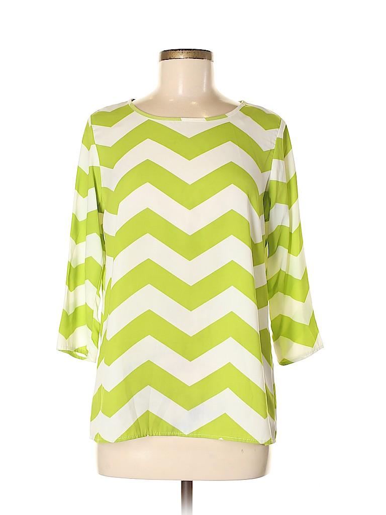 My Story Women 3/4 Sleeve Blouse Size M