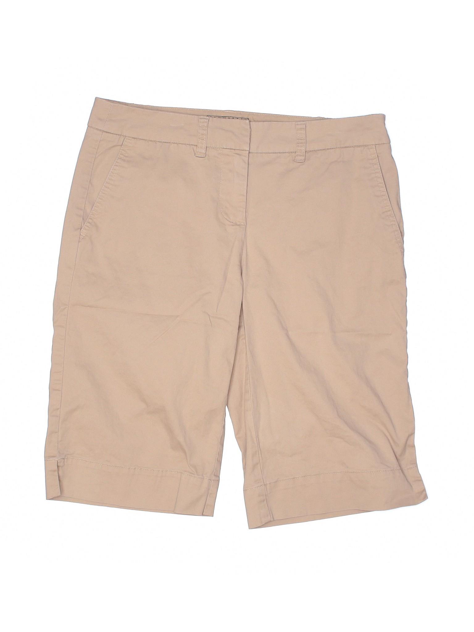 "NWT Women/'s Loft 4/"" Solid Cotton Shorts Size 00 0 2 4 6 8 10 12 14 16"