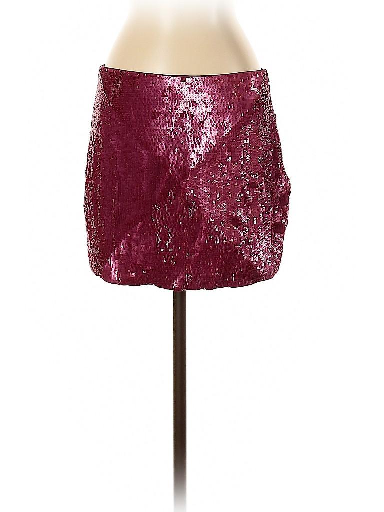 Haute Hippie Women Silk Skirt Size S