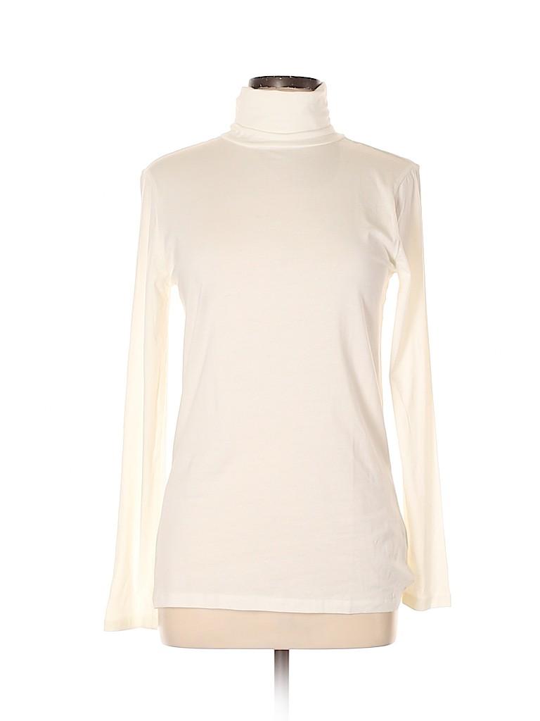 Joe Fresh Women Long Sleeve Turtleneck Size L