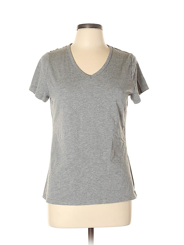 Falls Creek Women Short Sleeve T-Shirt Size L