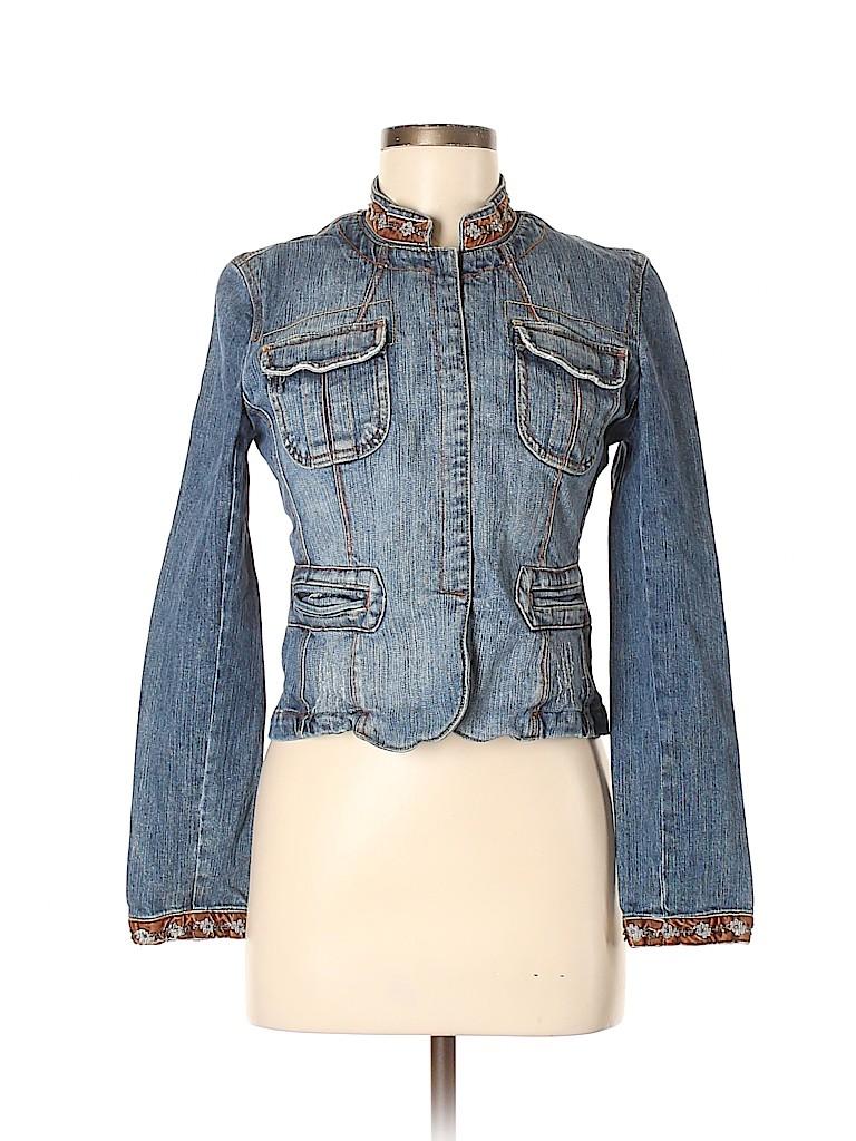Paris Blues Women Denim Jacket Size M