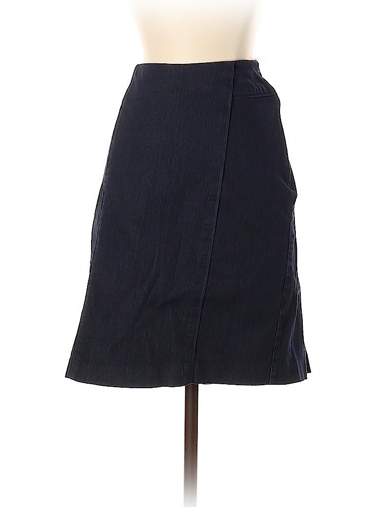 New York & Company Women Denim Skirt Size 6